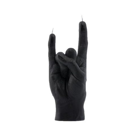 You Rock Candle Hand (Black)