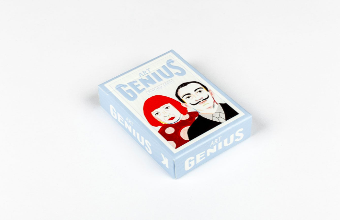 Art Genius Playing Cards Game Rebecca Clarke for We Built This City 5