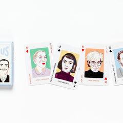 Art Genius Playing Cards Game Rebecca Clarke for We Built This City 4