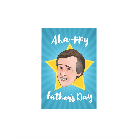 Aha-ppy Father's Day (card) - Native 21
