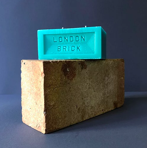 Brick Candle - Thames Drift Homeware - Candles Brick Sixty for We Built This City 2