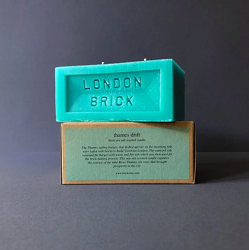 Brick Candle - Thames Drift Homeware - Candles Brick Sixty for We Built This City 3