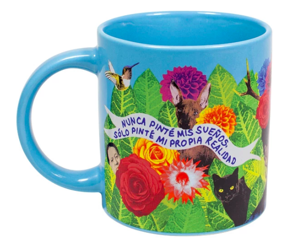 Frida Dreams Mug Ceramics - Drinking Vessels Unemployed Philosophers Guild for We Built This City 2