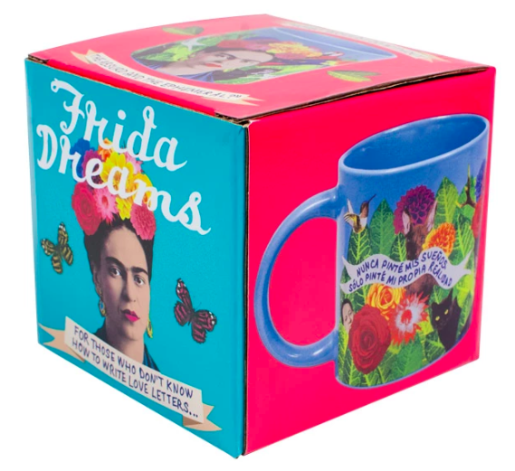 Frida Dreams Mug Ceramics - Drinking Vessels Unemployed Philosophers Guild for We Built This City 3