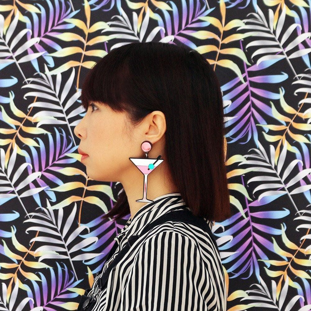 Shaken Not Stirred Earrings Jewellery Jennifer Loiselle for We Built This City 2