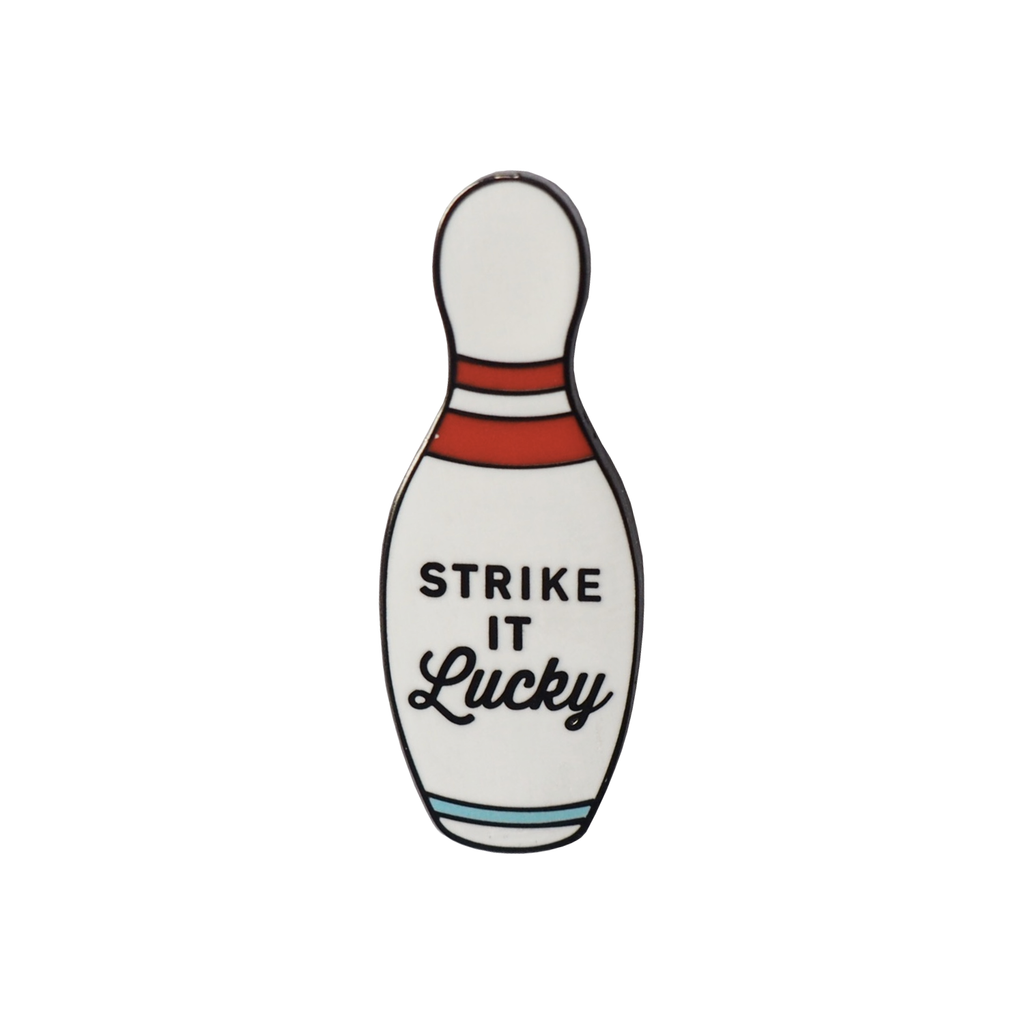 Strike It Lucky Skittle Enamel Pin