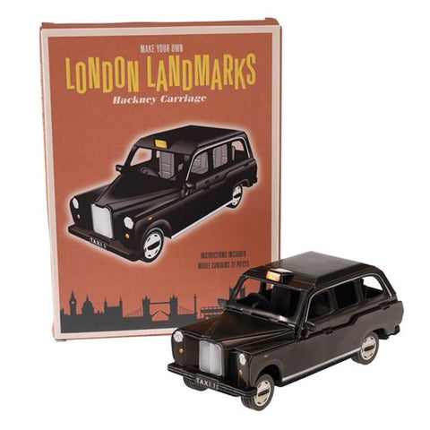 Make Your Own London Landmark - Black Taxi