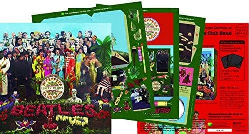 Tatebanko Sgt Pepper Pop Up Album Cover Stationery & Craft - Pop Up Icons Turnaround for We Built This City 2