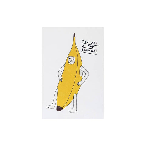 You Are A Top Banana (card) - Hanna Melin