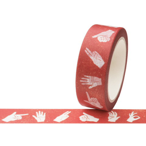 Hands Washi Tape