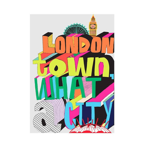 London Town What A City Notebook