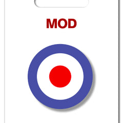 Mod Acrylic Badge Jewellery - Brooch My World for We Built This City 2