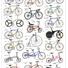 Bicycles Art Sport David Sparshott for We Built This City 2