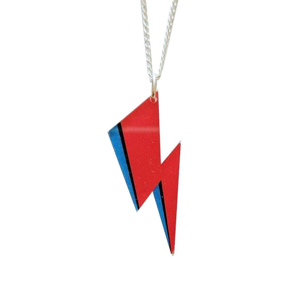 Acrylic Bowie Flash Necklace