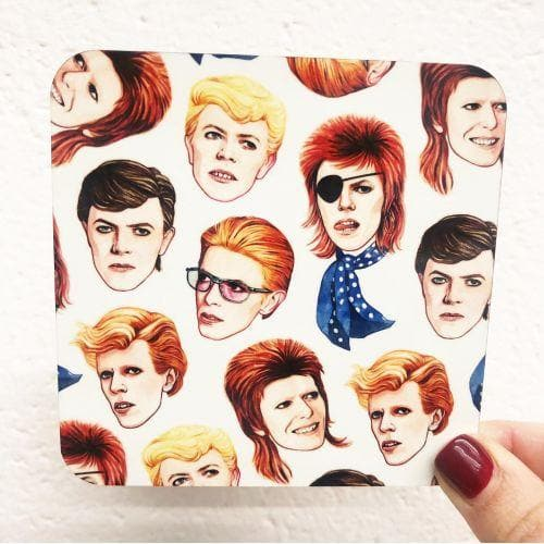 Helen Green Fabulous Bowie Coaster for We Built This City 2