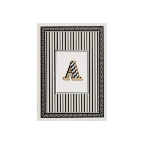 Pin Badge with card (A-Z)