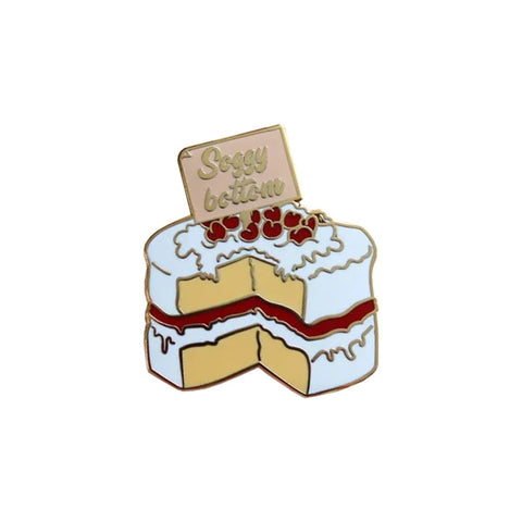 Soggy Bottom Enamel Pin