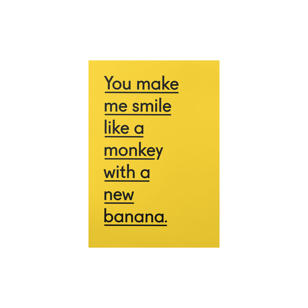New Banana (card) by Twin Pines