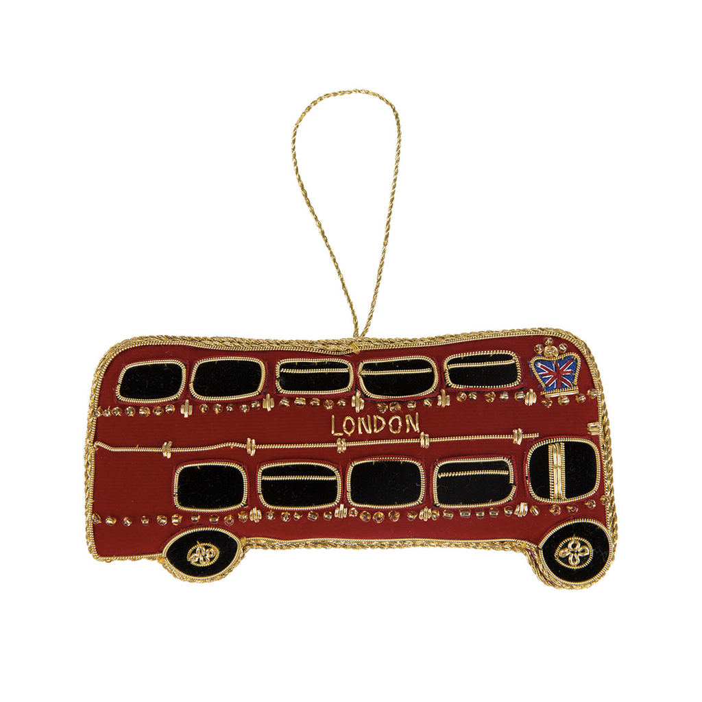 Routemaster Bus Christmas Decoration