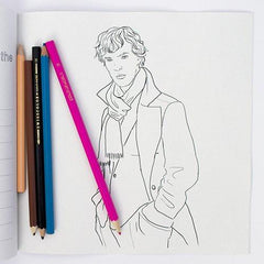 Colour Me Good Benedict Cumberbatch Colouring Book