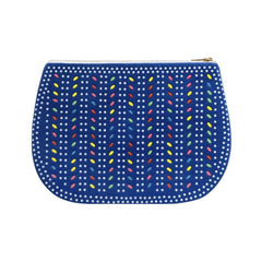 Maxi Blue Corduroy Clutch