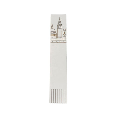 London Skyline Leather Bookmark