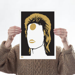 Ziggy Stardust Art Music Bold & Noble for We Built This City 1
