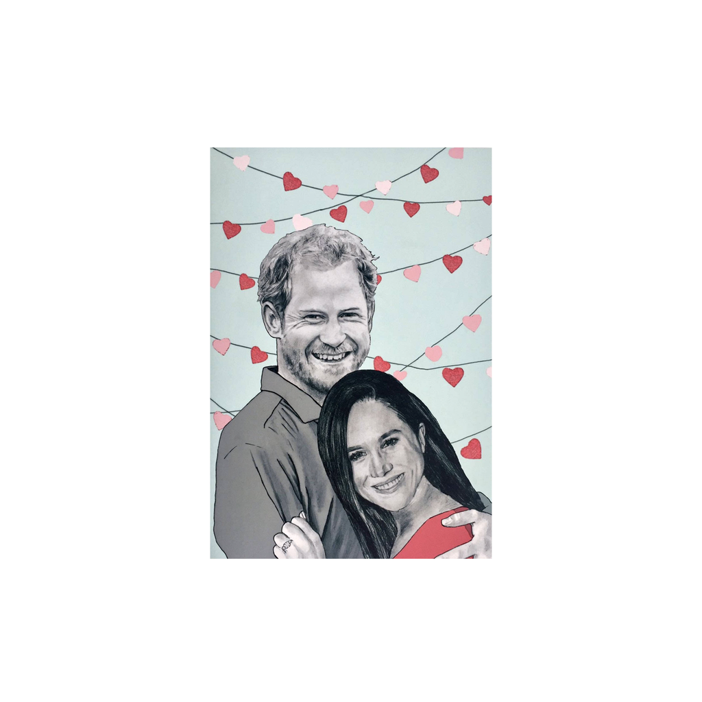 Harry and Meghan card
