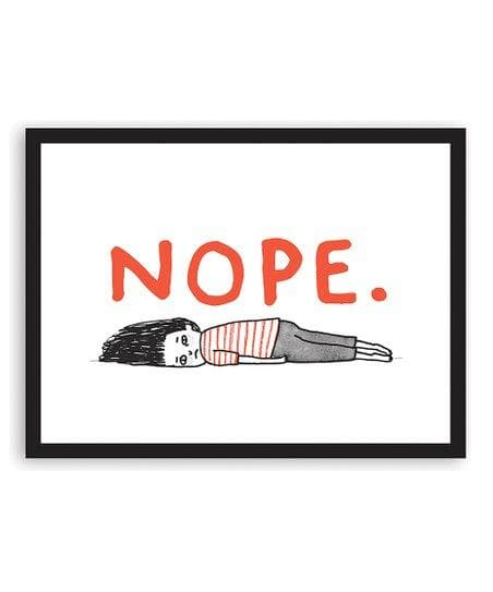 Nope. Art Humour Gemma Correll for We Built This City 2