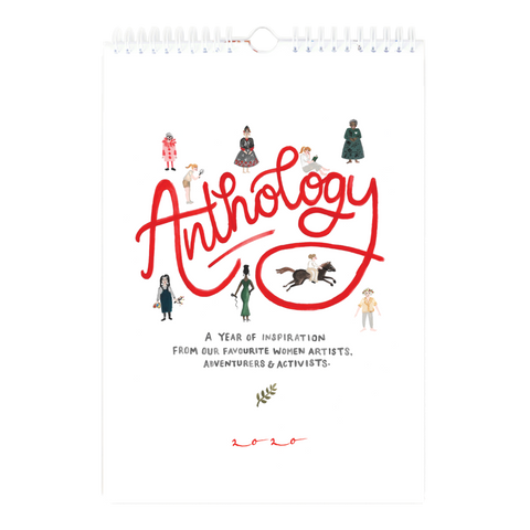 Anthology 2020 Wall Calendar