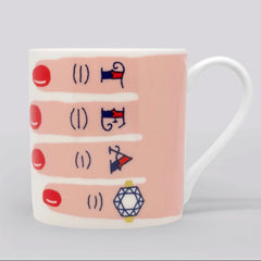 The Tattooed Tea Lover's Mug (With Red Nails)