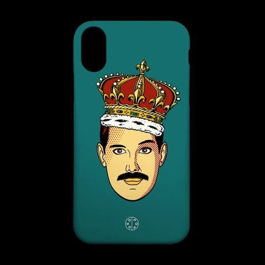 Freddie Homage Phone Case - iPhone X Fashion - Cases Ded Pop for We Built This City 2