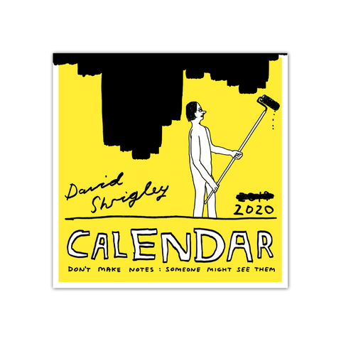 David Shrigley 2020 Calendar