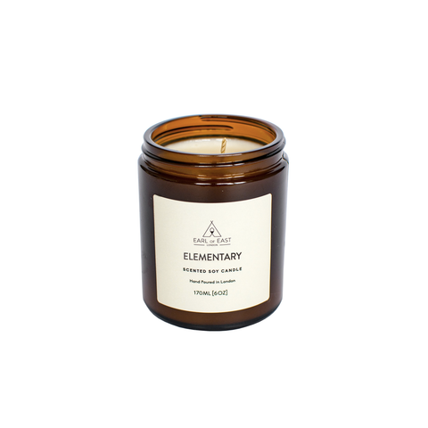 Elementary Soy Wax Candle 170ml