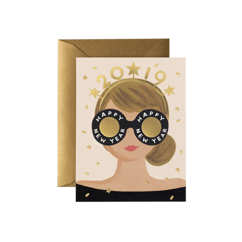 2019 New Years Girl (Card)