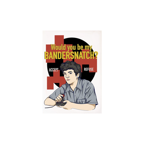 Bandersnatch Black Mirror Card
