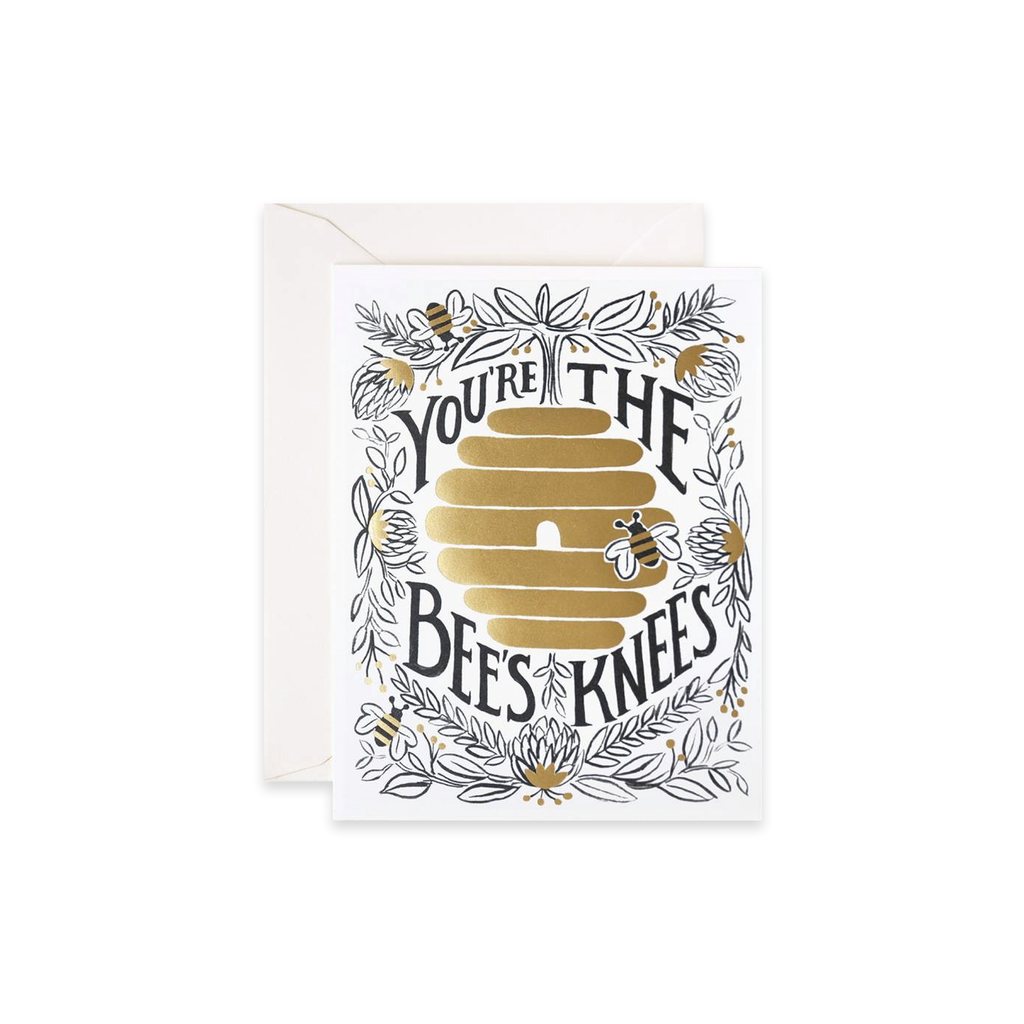 You're the Bee's Knees card