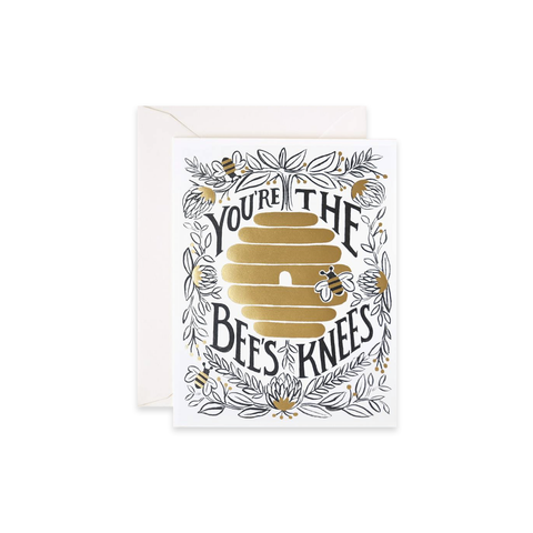 You're the Bee's Knees (card)