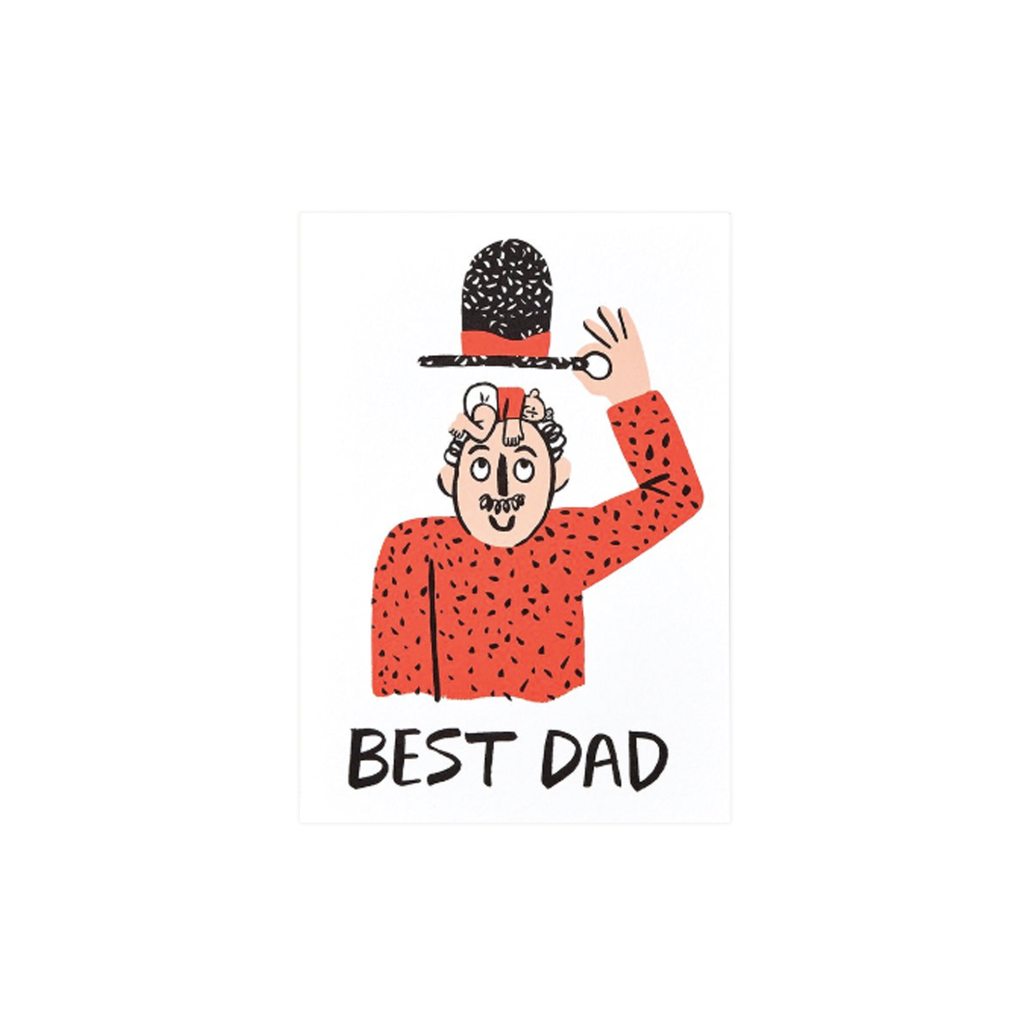 Best Dad! card