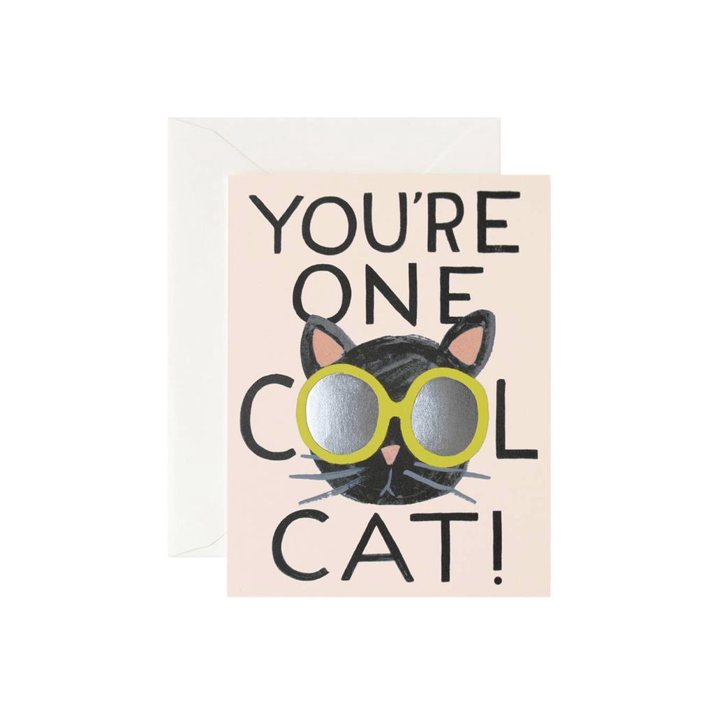 You're One Cool Cat (Card)