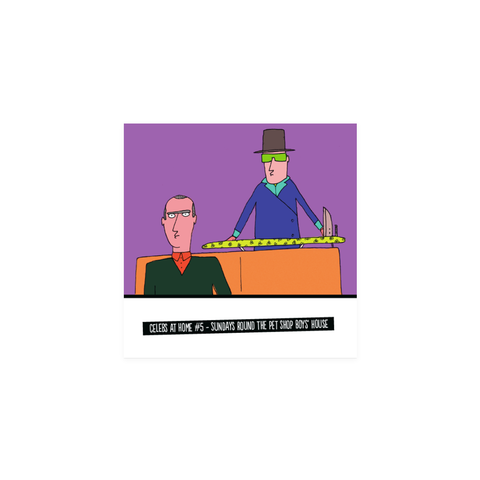 Sunday Pet Shop Boys card