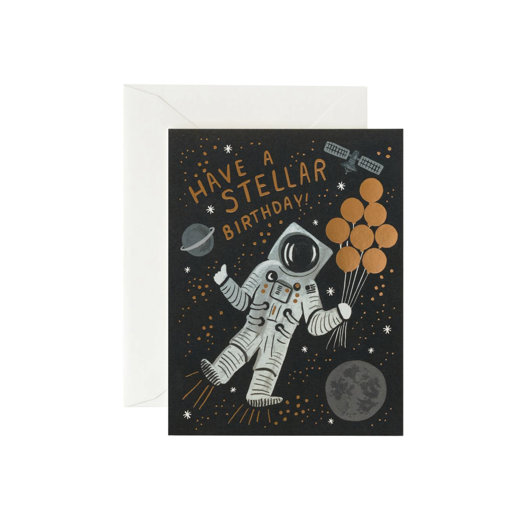 Stellar Birthday (Card) Card - Birthday Rifle Paper for We Built This City 1