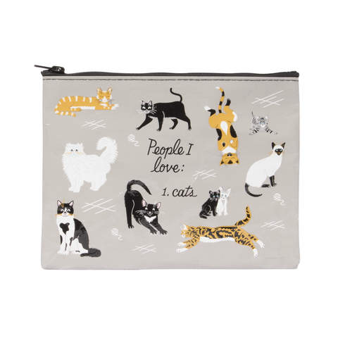People I'd Like To Meet: Cats Zipper Pouch