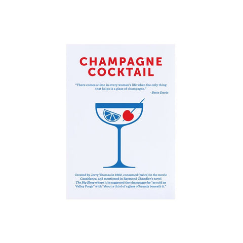 Champagne Cocktail card