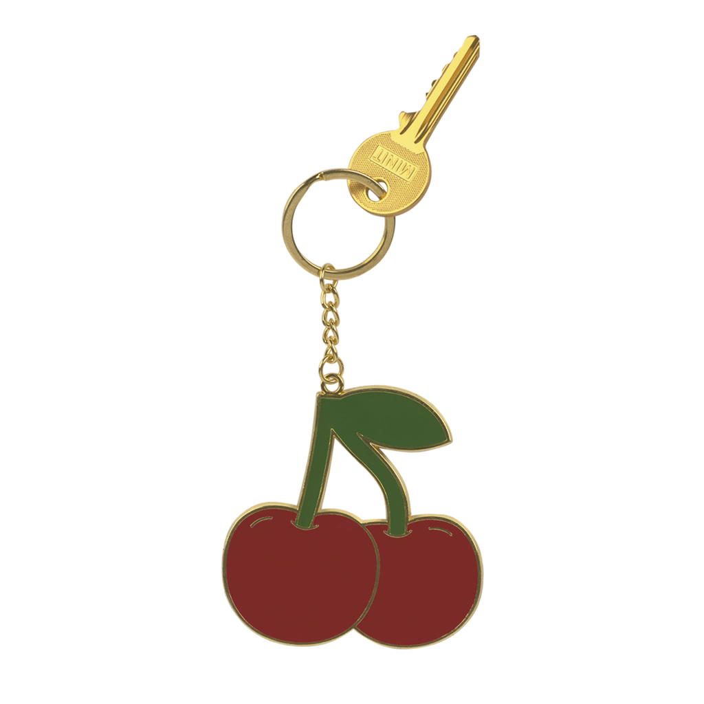 Oversized Cherry Keyring Travel Accessories - Keyrings DOIY for We Built This City 1