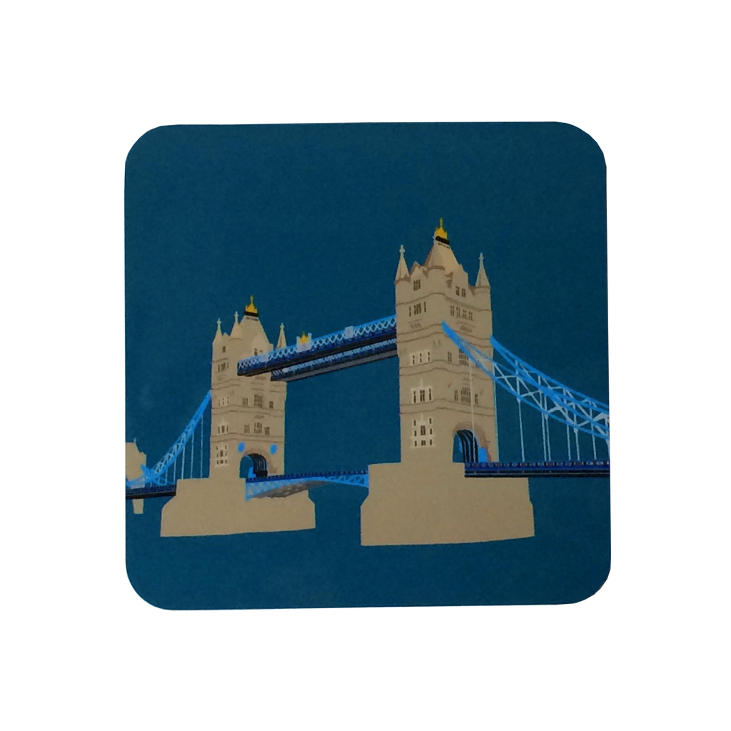 Navy London Tower Bridge Coaster