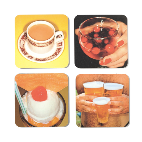 Martin Parr Set of Four Coasters