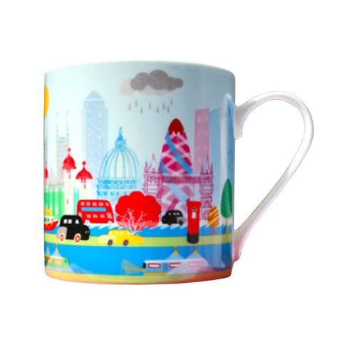 Colourful London Mug