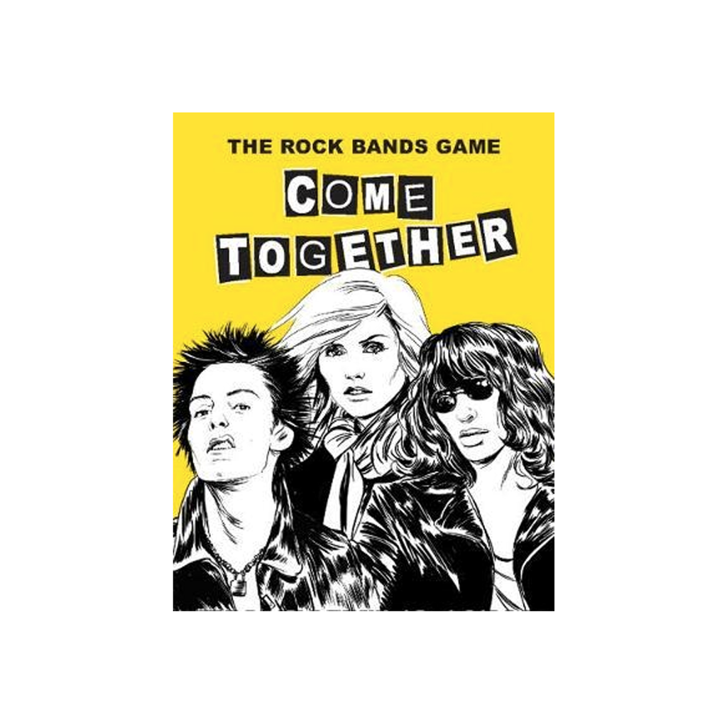 Come Together The Rock Bands Game Game Stéphane Manel for We Built This City 1