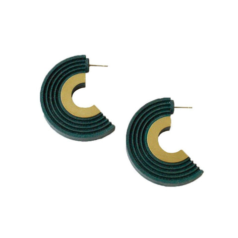 Curve Hoop Earrings